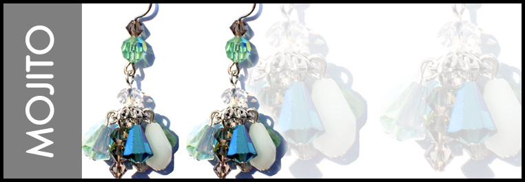 Designer Swarovski crystal jewelry hand made in NYC with love.