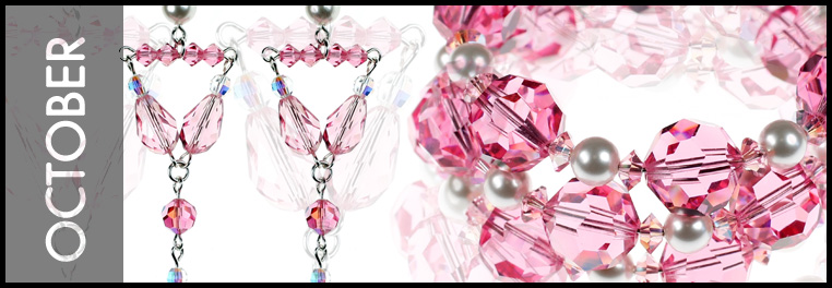 Pink is the Color for October - Love Pink - Check out our Pink Rose Collection