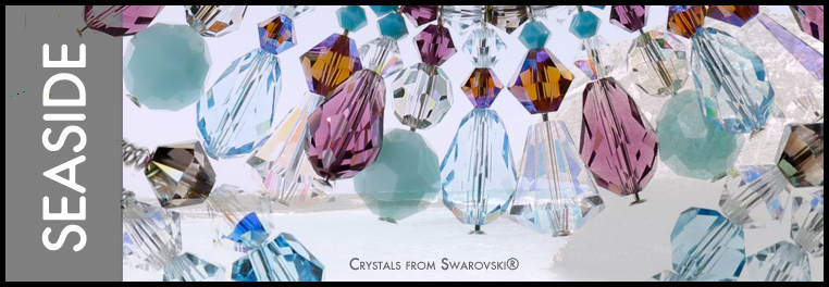 Seaside Crystal Jewelry Collection